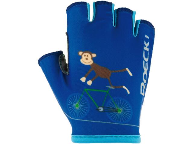 Roeckl Toro Gants Enfant, monaco blue